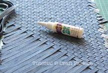 Crafts - Jeans  /  Artesanato - Jeans / Reuse and decor. Reutilização e decoração.