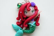 Polymer Clay / This an awesome sauce collection of polymer clay creations that are SO CUTE!