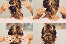 Hair: step by step