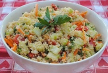 Q is for Quinoa / by Melissa Miller