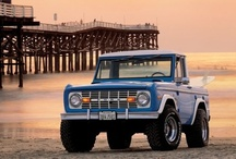 Ford Trucks & Bronco's / by Saul Spencer