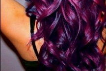 A striking color @ Salon Ambiance 714-846-5900 / Our salon uses updated techniques and placement featuring Goldwell color