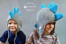 Czapki dla dzieci / Kolorowe, odlotowe czapki dla dzieci.  Czapki myszki, sowy, pieski itp