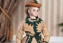 Fashion dolls. Steiner Jules