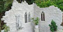Дача: стены, ограды, ширмы