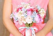 Wedding colours and flowers / by Angela Hill