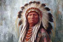 Native American art / my favourite pictures of te Native Americans / by Kaz Judd