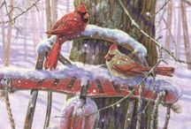 Winter Wonderland / Winter and New Year's ephemera