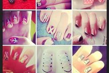 Selfmade nail arts