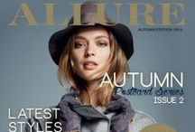 ALLURE 2014 Postcard Series 2, Autumn / More updates on the products and trends of Autumn 2014, and where you can get them at Botany Town Centre.