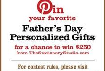 The Stationery Studio Father's Day Contest / by Tera Kolvenbach
