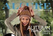 ALLURE 2014 Postcard Series 4, Autumn / ALLURE Postcard Series 4, Autumn 2014