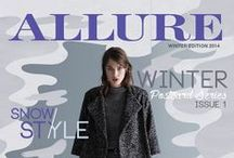 ALLURE 2014 Postcard Series 1, Winter / ALLURE Postcard Series 1, Winter 2014