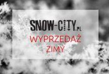 PROMOCJE SNOW-CITY.PL / Tutaj znajdziecie informacje o aktualnych promocjach w naszym sklepie snow-city.pl