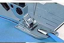 Швейное дело (технология) / Технология пошива, приёмы, инструменты и приспособления, оборудование швейного производства.