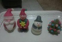 Sugarpaste cakes / My homemade creations!