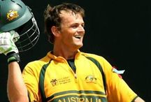 Adam Gilchrist / An Australian Cricket legend, a gentleman, great sportsman/role model, a son, husband and father...oh, and he is my cousin. The Gilchrist family are so proud of you Adam. #adamgilchrist, #cricket, #australia, #peggygilchrist, #aussiepride
