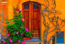 Home - Doors, Windows and Handles / I love the variety and imagination that some people put into their doors and windows. #doors, #windows, #doorhandles