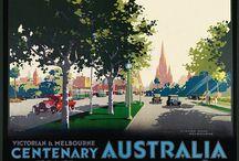 Australia - Vintage Posters / Old posters and ads for Australia's states and towns. #vintage, #australia, #spiritofaustralia