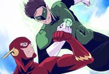 Flash & Green Lantern | HalBarry / OTP: Flash & Green Lantern