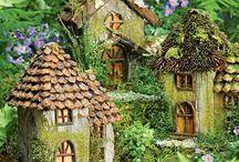 Garden - Fairy Gardens / We all love the fairies, so let's build them a garden. #fairies, #garden