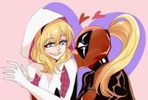 Spider-Gwen & Lady Deadpool / Board about Gwen Stasy and Lady Deadpool