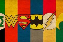 símbolos de  Super-heróis