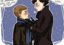 John Watson & Sherlock Holmes | Johnlock / OTP: John Watson & Sherlock Holmes