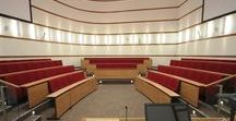 Lecture Theatre Seating Systems / More than 50 years of design and engineering has gone into producing the UK's most select range of lecture theatre seating systems