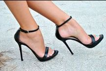 ♥ Heels to Heaven ♥ / Shoes for a woman are like jewels. Special jewels for her little precious feet. High heels are for me a way to elevate myself up to my more inconfessable dreams.