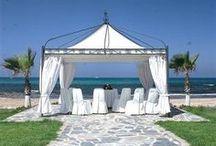 Wedding on Cyprus Beach / Romantic beach weddings by the beautiful sea of Cyprus