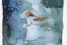 Aquarelle, Peinture / by KARA KEDI