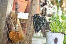 Tee-se-itse, tuunaa ja kierrätä / Vinkkejä puutarhan yksityiskohtiin.