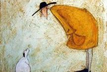 The Art of Sam Toft / he loves his jack Russell! / by lucy cooper