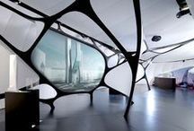 Space / architectures, interior design, spatial design