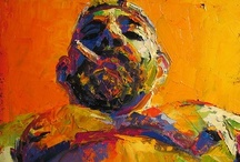 My Paintings - Figurative / nudes and portraits
