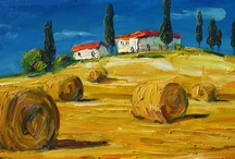 My Paintings - Landscapes / landscapes from around the world