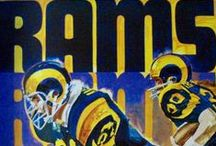 Rams For Life / Cleveland, Los Angeles, St. Louis Rams images / by Mitch
