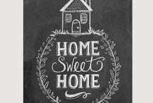 Home sweet home / Como en casa, en ningún lugar.