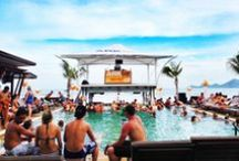 "ARKbar Beach Resort / ARKbar - the Koh Samui ""Party Central"" is located on Chaweng Beach, Thailand. Great value and modern rooms, restaurant and bads on the beach, pool parties every day. Wednesday & Friday beach party. Island Info is next to ARKbar reception. / by Island Info Samui"