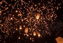 Loi Kratong Festival - Thailand / The annual festival called Loi Kratong. Tickets for tours and activities available at Island Info, inside Ark Bar Beach Resort http://islandinfokohsamui.com/ / by Island Info Samui