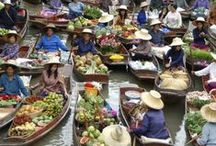 Floating Markets of Thailand / Thailand's amazing floating markets are probably the most colourful and entertaining markets in the world. Tickets for tours and activities available at Island Info, inside Ark Bar Beach Resort http://islandinfokohsamui.com / by Island Info Samui