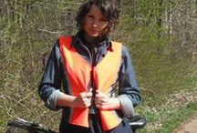 Vest nr 1 / Great vest that will make your bicycle ride safe and cool  / by BIKE WITH WERONIKA