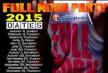 Full Moon Party - 2015 Party Dates / 2015, Full Moon Party, Thailand. Dates, Schedule, Calendar,  Timetable. For more info about the infamous Full Moon Party, visit the Island Info Samui website: http://www.islandinfokohsamui.com / by Island Info Samui