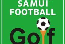 Samui Football Golf / Football Go;f in Koh Samui. One of the many great outdoor activities in Koh Samui. Make your booking for Samui Football Golf at Island Info, inside Ark Bar.  http://islandinfokohsamui.com / by Island Info Samui