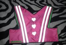 more HEARTS :) / short bicycle vest that is going to make your night ride safe and fashionable :)