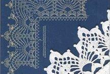 Crochet かぎ針編み / かぎ針編みのヒント。パターンつきのもの、形、、アイデア / by 花梨
