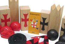 Houten Buitenspel / Leuk houten buitenspeelgoed