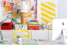DECO : BUREAU / Inspirations pour décorer son bureau