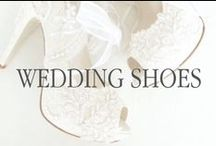 Walk the Aisle in Heels / Bridal shoes can be such a small detail that can really tie your whole wedding inspiration together!